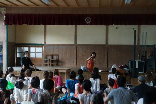 JOUによる音とダンスのワークショップ(GNJ2014)
