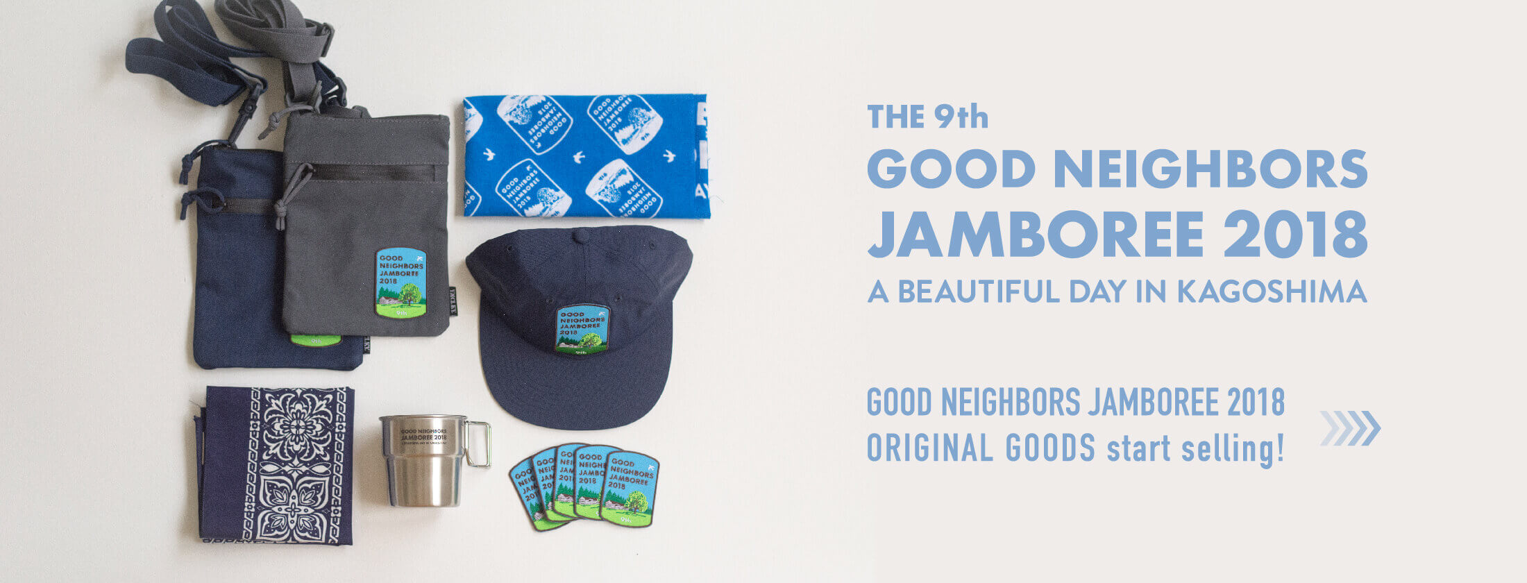 GOOD NEIGHBORS JAMBOREE 2018 ORIGINAL GOODS 販売中