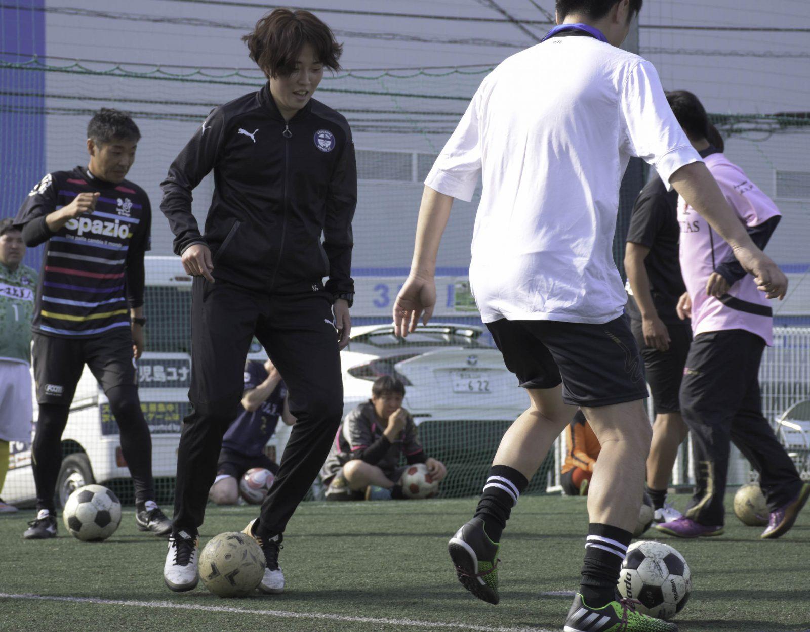 鹿児島ユナイテッドFC  ウォーキングフットボール