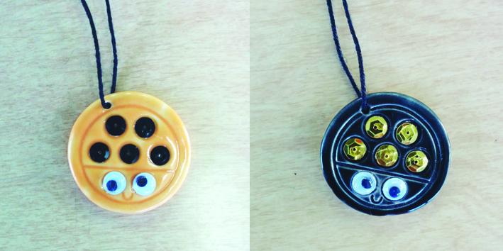 Ladybug Necklace & Game Workshop