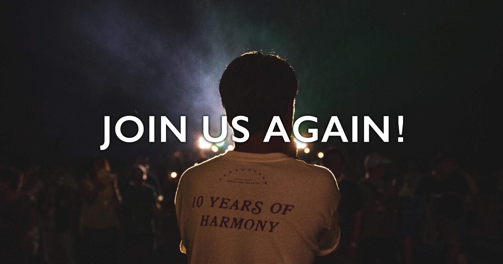 JOIN US AGAIN!